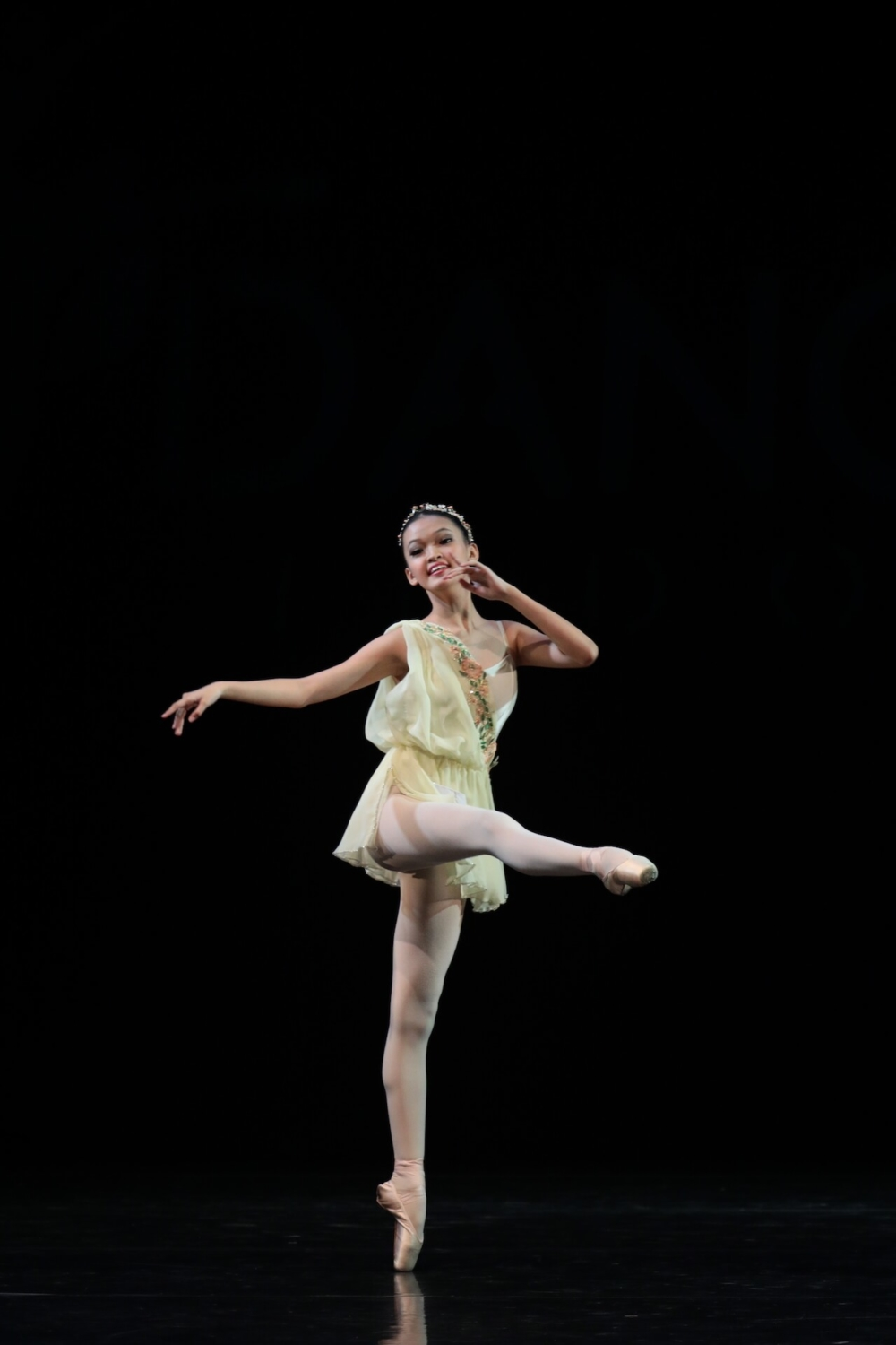 Dance Prix Indonesia 2019 – Ballet Solo Pre-Senior Finalist, Jade Princessa (The Ballet Academy at Casagaya)