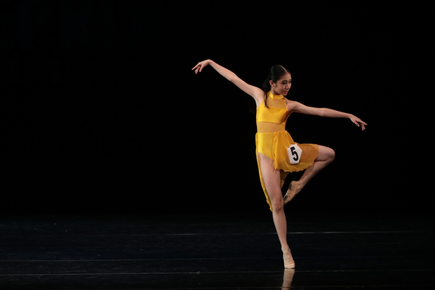 Dance Prix Indonesia 2019 – Contemporary Solo Finalist, Angelina Natalie Halim