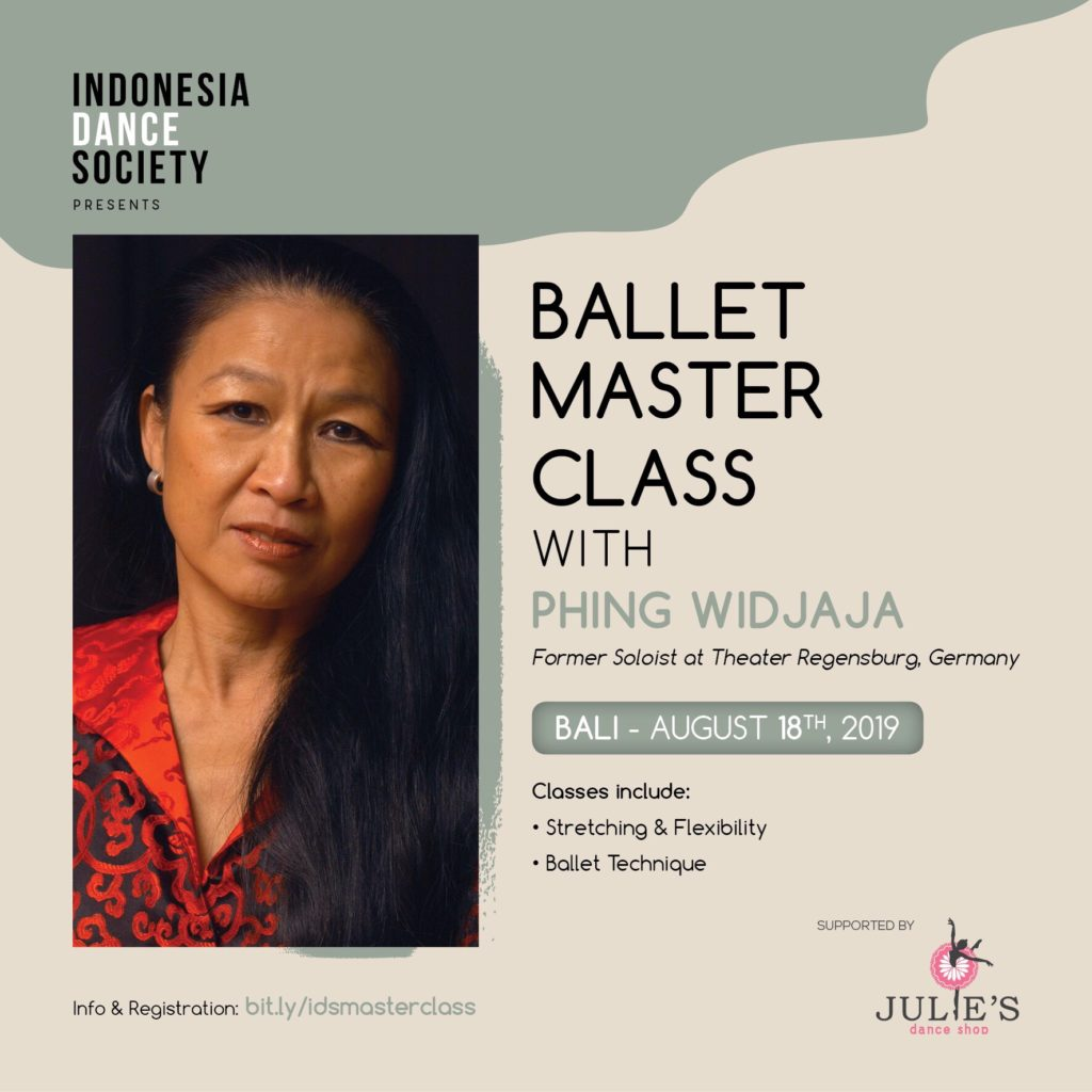 IDS Ballet Master Class with Phing Widjaja